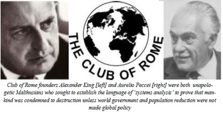 The Club of Rome founders