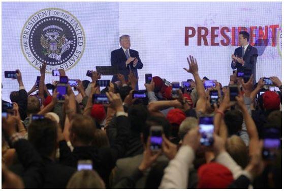 Trump at Turning point