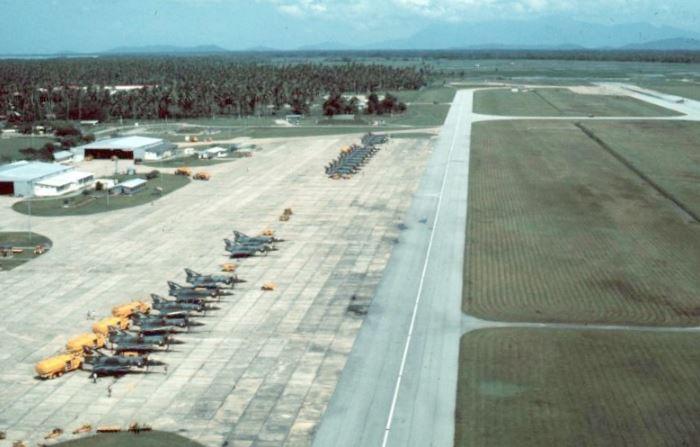 RAAF Mirage fighters at butterworth in Malaysia. Australian Army diggers were ripped off for defending this assett
